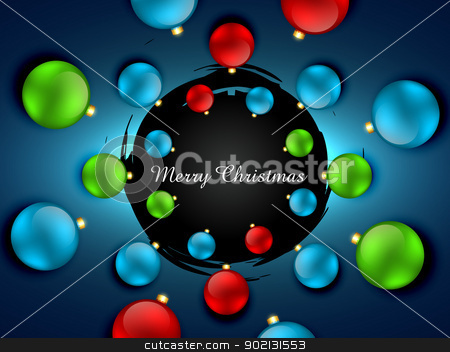 christmas background stock vector clipart, beautiful merry christmas background design illustration by pinnacleanimates