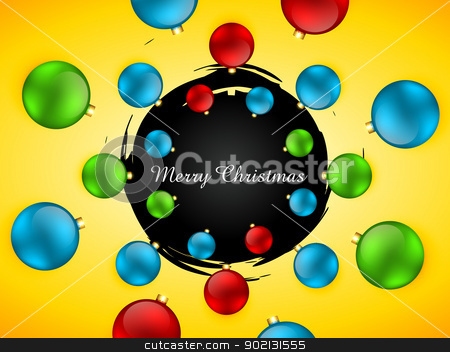 merry christmas background stock vector clipart, stylish colorful merry christmas background design by pinnacleanimates