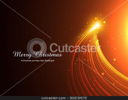 creative christmas tree stock vector clipart, vector creative merry christmas illustration by pinnacleanimates