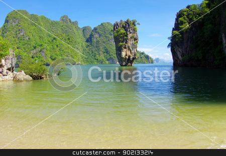 Island stock photo, James Bond Island, Phang Nga, Thailand by Vitaliy Pakhnyushchyy