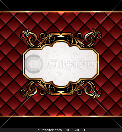 Vintage aristocratic emblem, grand background stock vector clipart, Illustration vintage aristocratic emblem, grand background - vector by -=Mad Dog=-