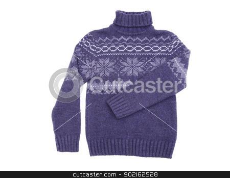 sweater  stock photo,  sweater isolated on a white by Vitaliy Pakhnyushchyy