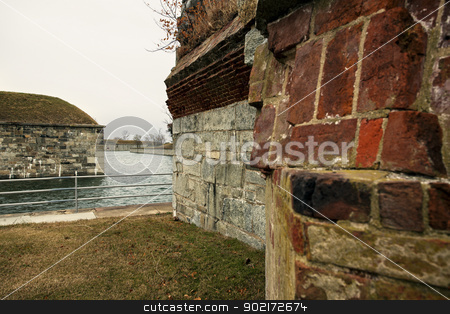Fort Monroe  stock photo, Fort Monroe in Hampton, Virginia by Henryk Sadura