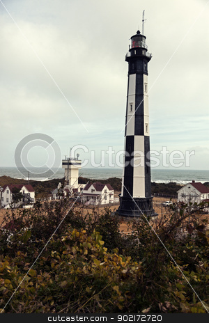 New Cape Henry Lighthouse   stock photo, New Cape Henry Lighthouse in Virginia by Henryk Sadura