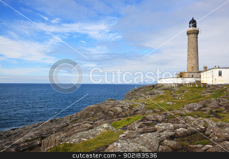 Ardnamurchan Lighthouse stock photo, Ardnamurchan Lighthouse, Kilchoan, Acharacle, Scotland. The most westerly point on the British Isles mainland. by Darren Pullman