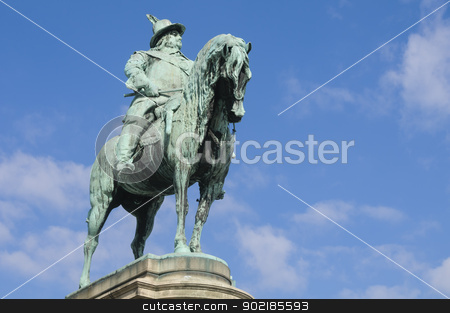 King Charles X's statue in Malmo stock photo, King Charles X's statue in Stortorget, Malmo, Sweden by Alessandro Rizzolli