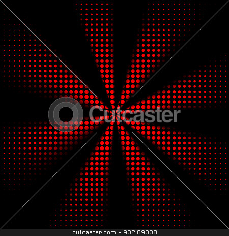 Abstract dots rays stock photo, Abstract rays background with dots fantasy by Dario Rota