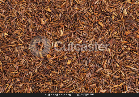 rooibos red tea stock photo, background texture of rooibos tea, made from the South African red bush, naturally caffeine free by Marek Uliasz