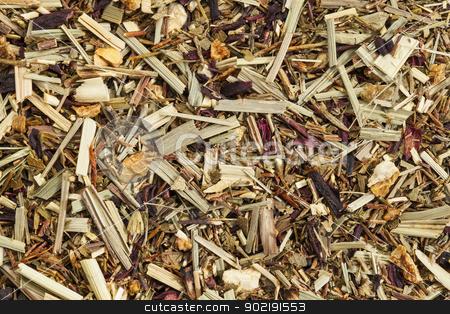 lemongrass organic tea stock photo, background texture of lemongrass organic tea, caffeine free by Marek Uliasz