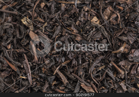 Se Chung Oolong tea stock photo, background texture of Se Chung Oolong organic loose tea by Marek Uliasz