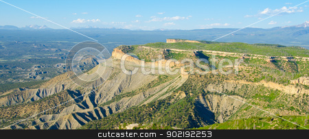 Lookout Point at Mesa Verde National Park, Colorado stock photo, Lookout Point at Mesa Verde National Park, Colorado by Robert
