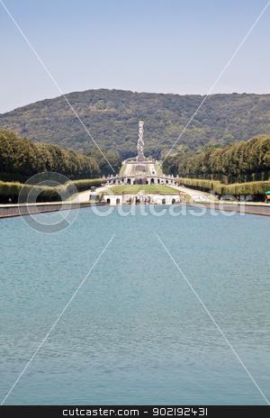 Reggia di Caserta - Italy stock photo, Famous Italian gardens of Reggia di Caserta, Italy. by Perseomedusa