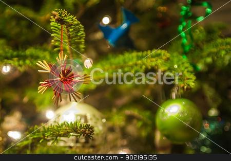 christmas tree ornaments stock photo, christmas tree ornaments by digidreamgrafix.com