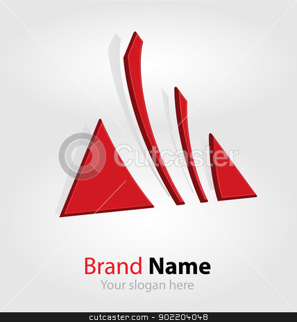Abstract brand logo/logotype stock vector clipart, Originally designed abstract brand logo/logotype by Vladimir Repka