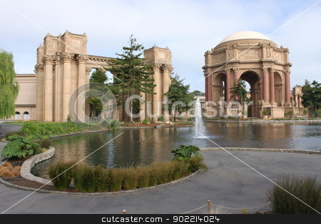 Exploratorium San Francisco stock photo, Exploratorium San Francisco palace of fine arts by Henrik Lehnerer