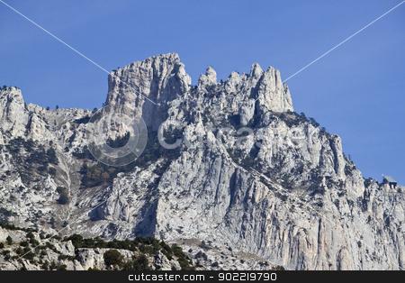 Ay-Perti mountain stock photo, Ay-Petri mountain in Crimea, Ukraine, near Yalta by Viacheslav Belyaev