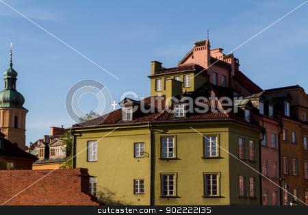 Castle Square in Warsaw, Poland stock photo, Castle Square in Warsaw, Poland by Andrey Starostin