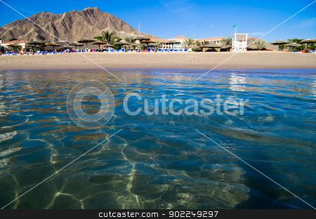 beach  stock photo, sand beach and blue sky by Vitaliy Pakhnyushchyy