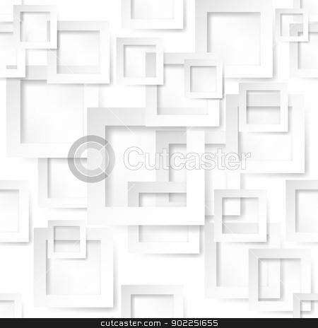 Paper form background stock photo, Square shape sticker. Illustration on white background  by dvarg