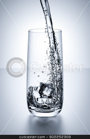 glass of water stock photo, An image of a nice glass of water by Markus Gann