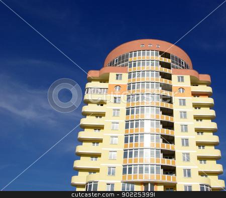 modern apartments building  stock photo, A modern apartments building viewed from an vinnitsa   by Vitaliy Pakhnyushchyy
