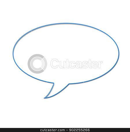 button  stock photo,  Speech bubbles ready for your text by Vitaliy Pakhnyushchyy