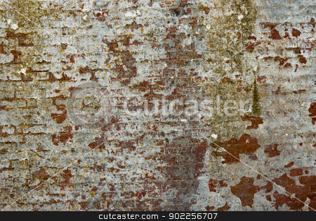 Brick wall of an abandoned building - background stock photo, Brick wall of an abandoned building - background by Click Images