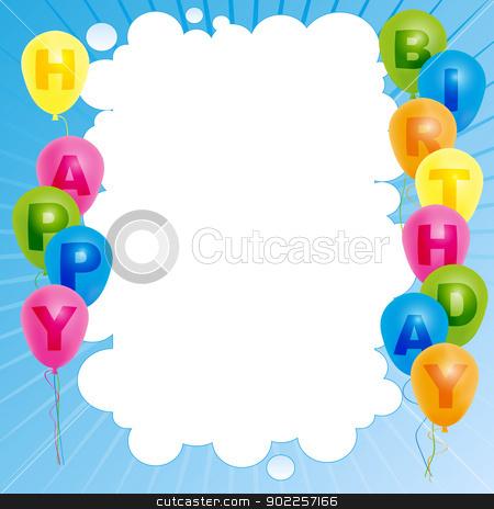 Happy Birthday Card Stock Vector