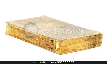 Old book  stock photo, Old book on  a white by Vitaliy Pakhnyushchyy