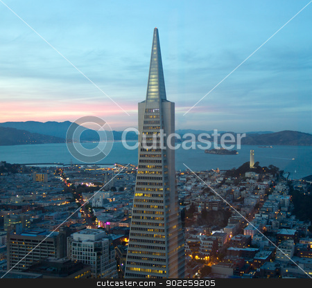 San Francisco Downtown stock photo, San Francisco Downtown by Click Images