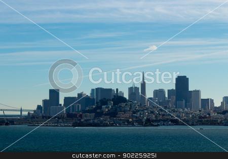 San Francisco Skyline stock photo, San Francisco Skyline by Click Images