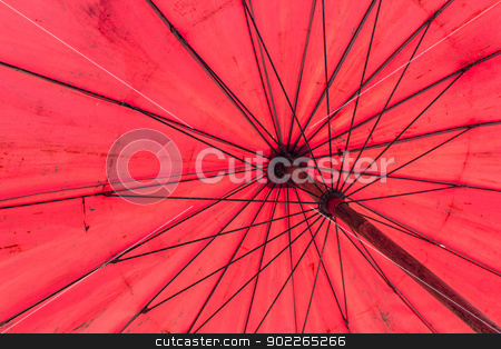 red umbrella stock photo,  by aomnet7