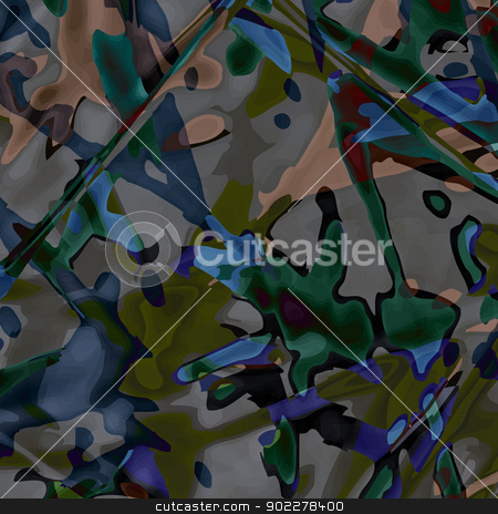 misery stock vector clipart, new abstract image with messy composition can use like contemporary art background by metrue