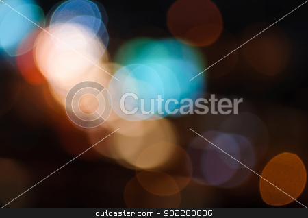 Abstract background  stock photo, Abstract background of colorful bokeh  by boonsom