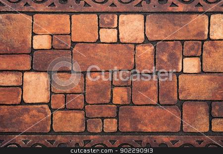 stone texture stock photo, Background of stone wall texture by Vitaliy Pakhnyushchyy