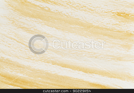 brown watercolor texture stock photo, watercolor paper texture with delicate brown paint smudges by Marek Uliasz