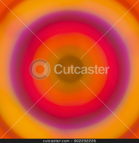 Colorful abstract background stock photo, Colorful abstract bokeh lights in concentric circles by Dutourdumonde