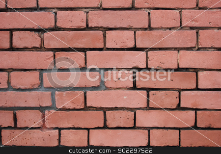 Brick wall stock photo, Brick wall background by SergeyK787