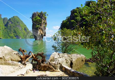 james bond island in thailand stock photo, james bond island in thailand by Vitaliy Pakhnyushchyy