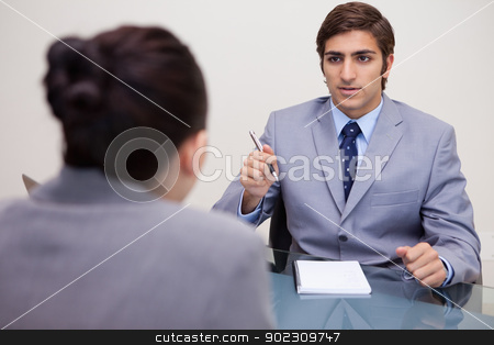 Business people in meeting stock photo, Young business people in meeting by Wavebreak Media