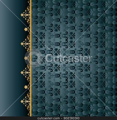 traditiona ottoman seamless pattern_01 stock vector clipart, traditional ottoman seamless pattern (restaurant menu) by Sevgi Dal