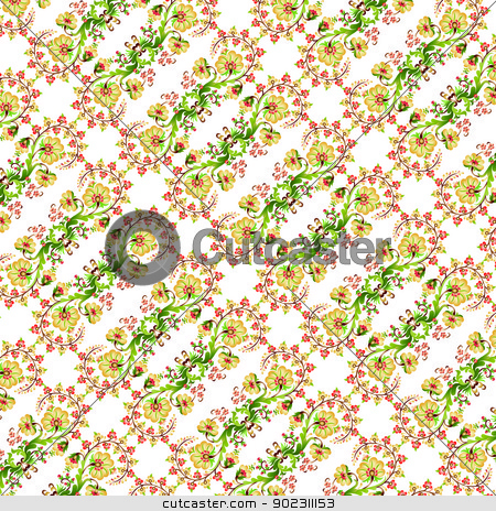 Turkish design seamless pattern stock vector clipart, turkish design seamless pattern (ottoman Style) by Sevgi Dal