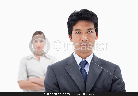Business people posing stock photo, Business people posing with the arms crossed by Wavebreak Media