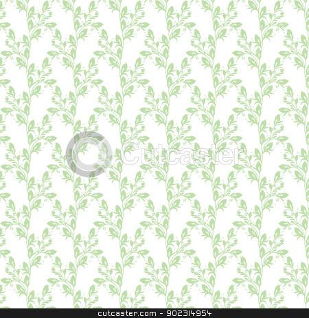 seamless floral pattern stock vector clipart, Beautiful background of seamless floral pattern by Sasas Design
