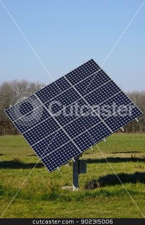 Solar Panel stock photo, A Bright solar panel in the nature by Maurizio Martini