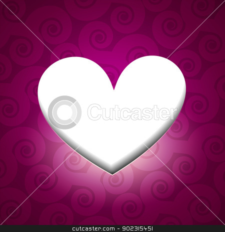 valentine day heart stock vector clipart, beautiful valentine day heart design by pinnacleanimates