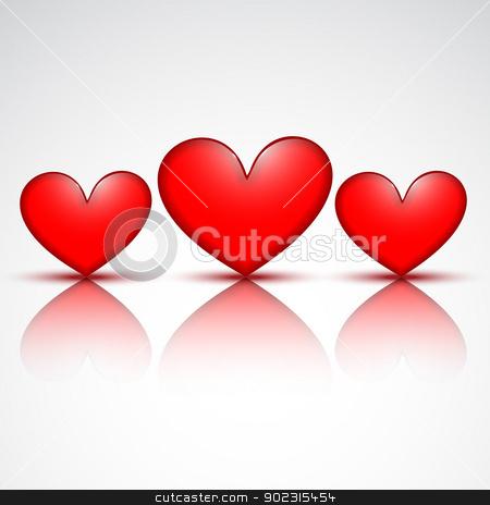 heart design vector stock vector clipart, vector heart design background illustration by pinnacleanimates