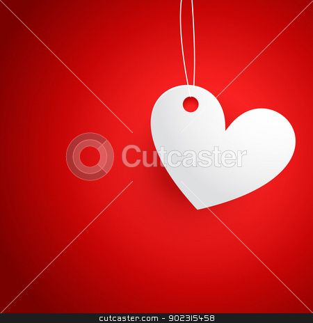 vector heart design stock vector clipart, vector heart background with space for your text by pinnacleanimates