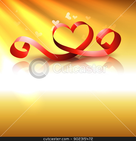 vector heart stock vector clipart, stylish beautiful vector heart design background by pinnacleanimates
