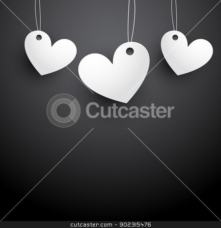 heart illustration stock vector clipart, heart background illustration with space for your text by pinnacleanimates